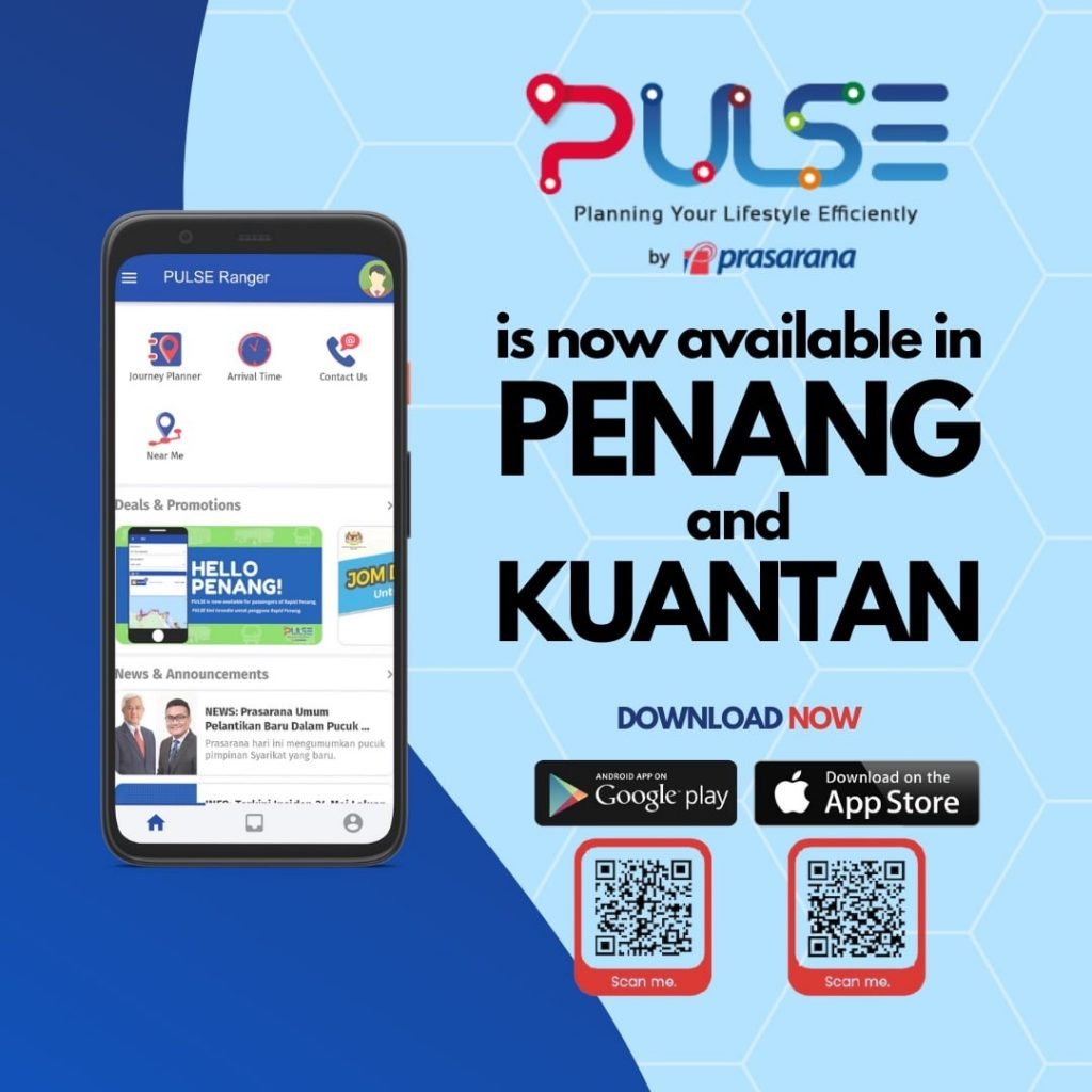 PULSE NOW AVAILABLE IN PENANG & KUANTAN